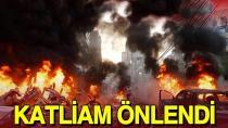 Adana polisi bombalı  saldırıyı son anda engelledi...