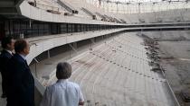 Spor Genel Müdürü Baykan, Yeni Adana Stadını inceledi