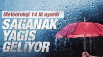 Türkiye genelinde sağanak etkili olacak