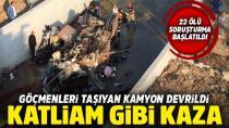 22 kişinin öldüğü kazayla ilgili korkunç iddia!