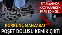Adana'da Sit Alanında Kemik Bulundu!