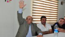 Balcalı Koop'ta yeni Başkan Mustafa Uslu....