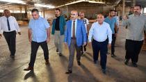 Vali Demirtaş,  ziyaretlerine bir yenisini daha ekledi