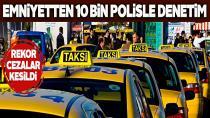 Birçok araç sahibine para cezası kesildi...
