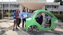 Öğrenciler Elektrikli Bisiklet Tasarladı, Rektör Kampüs Turu Yaptı