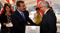 Başkan Çetin'den Kızılay'a Bağış Çağrısı....
