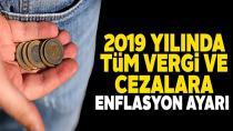2019 yılı başından itibaren vergi, ceza ve harçlar yüzde 23.73 oranında artması bekleniyor!