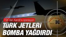 Kandil'e düzenlenen hava harekatında 15 terörist öldürüldü