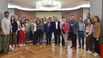 Yabancı Öğretmenlerden Sarıçam Belediyesine ziyaret
