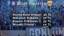 Adana Derbisinin Bilet Fiyatları Belli Oldu!