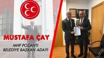 MHP Pozantı'da Mustafa Çay'ın adaylığı kesinleşti