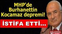 MHP'den Aday Gösterilmeyen Kocamaz, İstifa Etti