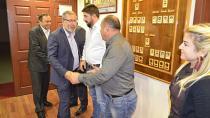 AK Partili Çetenak, CTB'yi ziyaret etti…
