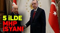 AK Parti'de 5 ilde 'MHP' tepkisi...