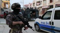 Ceyhan'da Terör Operasyonu: 5 Gözaltı