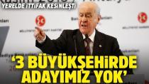 Bahçeli'den Seçim Mesajı: '3 Büyükşehir'de aday çıkartmayacağız'