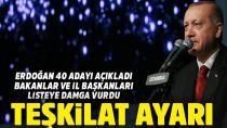 Erdoğan, 40 Belediye Başkan Adayını Açıkladı...