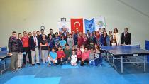 Müsabakalara Öğretmen ve öğrencilerden toplam 50 sporcu katıldı.