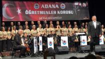 Adana Öğretmenler Korosu'ndan 36. Yıl Konseri
