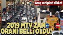 Araç sahiplerine kötü haber!  MTV zamlandı...