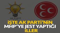 AK Parti'nin MHP'ye Jest Yapacağı 5 Şehir Belli Oldu