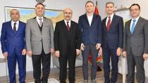 TSK Güçlendirme Vakfı Vali Demirtaş'ı Ziyaret Etti...