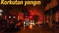Yangında Mahsur Kalan 4 Kişiyi İtfaiye Ekipleri Kurtardı
