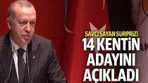 Erdoğan, 14 İlin Belediye Başkan Adayını Açıkladı