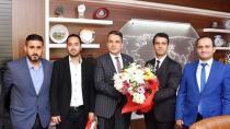Kiremithanespor'dan Başsavcı'ya ziyaret