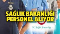 Sağlık Bakanlığı 31 bin 500'e yakın personel alacak
