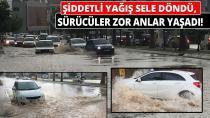Adana'da Şiddetli Yağış...
