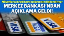 Merkez Bankası'ndan kredi kartı faizi kararı!