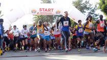 Büyük maratona rekor katılım...