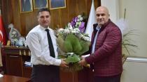 Ataşbak'a Kulüp Başkanı Hake'den Hayırlı Olsun Ziyareti