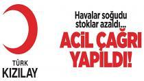 Türk Kızılayı'ndan acil kan bağışı çağrısı...