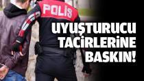 Adana polisinden uyuşturucu satıcılarına büyük darbe!
