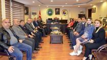 Milletvekili Özer, CTB'yi ziyaret etti