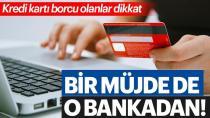 Vakıfbank'tan kredi kartı borç yapılandırma kararı