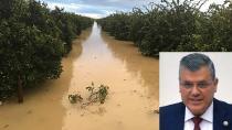 Ayhan Barut, sel ve su taşkını felaketine dikkat çekti