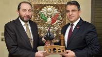 Başsavcı Yurdagül'e Rektör Alkan'dan anlamlı ziyaret
