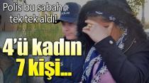Adana Merkezli 3 İlde PKK Operasyonu 7 Gözaltı