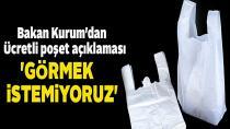 Bakan Kurum'dan 'ücretli poşet' açıklaması!