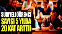 Türkiye'deki Suriyeli üniversite öğrencisi sayısı 5 yılda 20 kat arttı