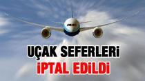 Sağanak Yağış Adana'da Uçak Seferlerini İptal Ettirdi