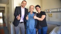 Balcalı'da ameliyat edildi ve sağlığına kavuştu