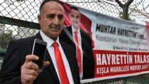Muhtar Adayının Seçim Afişi, Büyük Yankı Uyandırdı