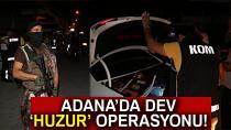 Adana'da 2 Bin 372 Polisle Dev Uygulama!