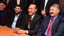 Sözlü ile Boydak Ceyhan'da seçim ofisinde buluştu...