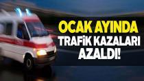 Trafik kazaları yüzde 36,5 azaldı