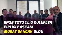 Murat Sancak 1. Lig Kulüpler Birliği Başkanı oldu